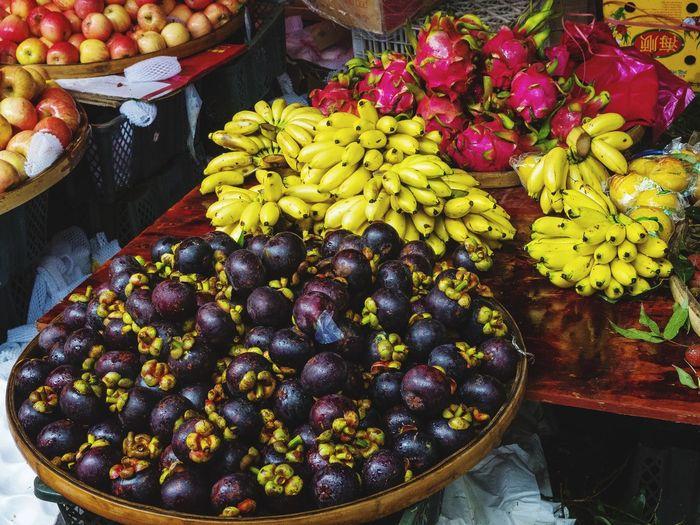 Fruit Stall At Market