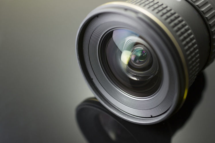 lens camera Black Color Camera Camera - Photographic Equipment Circle Close-up Digital Camera Electronics Industry Geometric Shape Glass - Material Home Video Camera Indoors  Industry Lens - Eye Lens - Optical Instrument No People Photographic Equipment Photography Themes Shape Silver Colored SLR Camera Studio Shot Technology