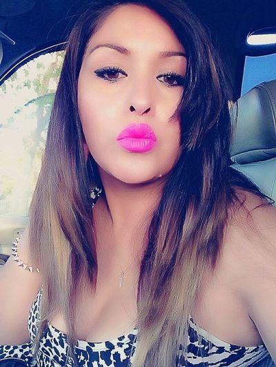 Taking Photos Enjoying Family Time Pink Lipstick  Having Fun :)
