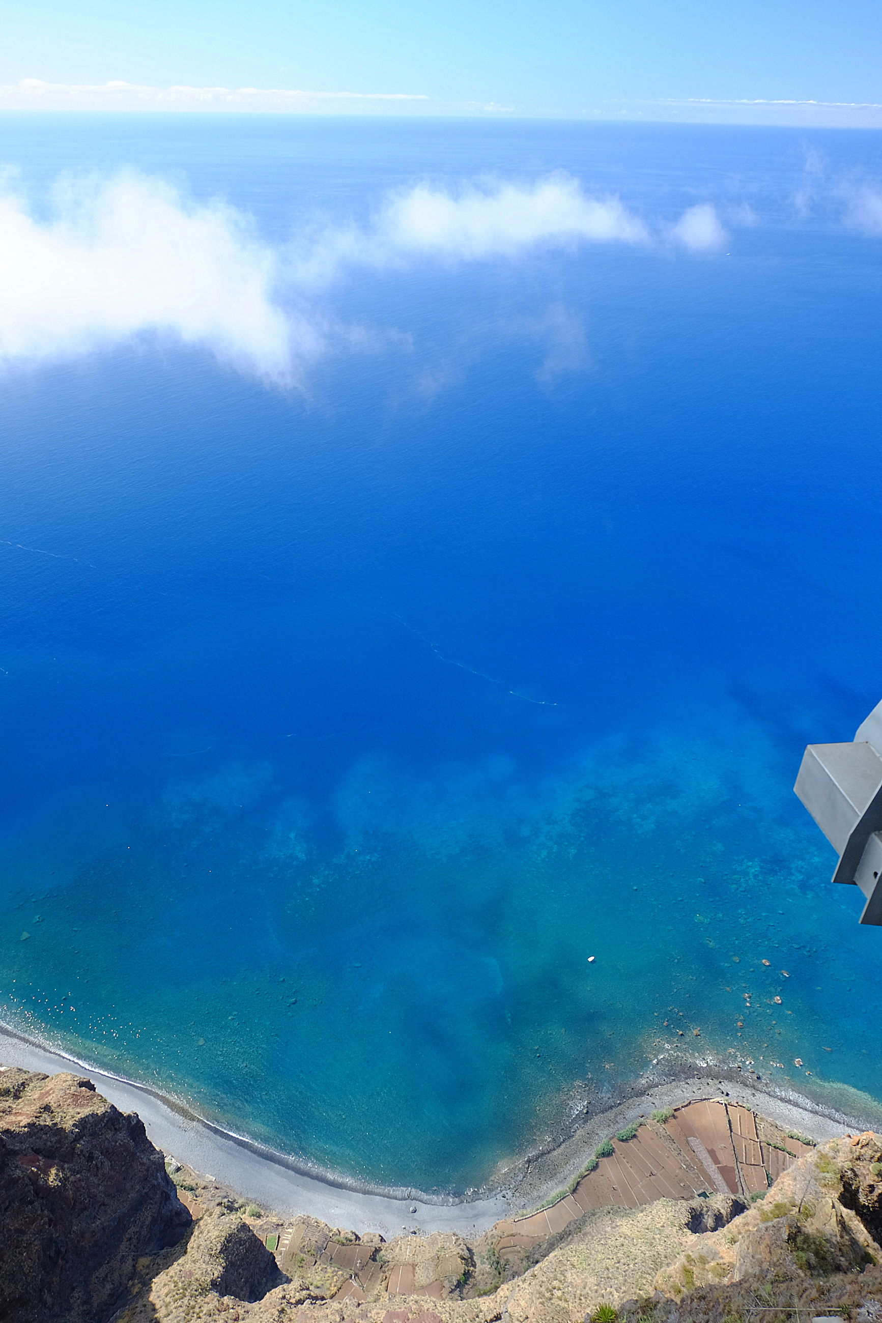 water, sea, scenics - nature, beauty in nature, blue, cloud - sky, nature, tranquil scene, sky, idyllic, day, tranquility, aerial view, no people, land, travel, beach, outdoors, island, turquoise colored
