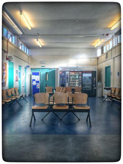 Waiting Indoors  Empty No People Hospital
