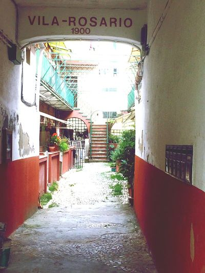 The Secret Spaces VilaRosario Campo De Ourique Built Structure Architecture Stairs Hidding Place EyeEmNewHere