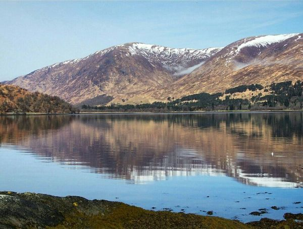 Loch Linnhe Loch  Loch  ScotlandLake Water Tranquility Beauty In Nature Idyllic Travel Destinations Reflection Lake Reflection No People Nature Tranquility Scenics Mountain Outdoors Beauty In Nature Landscape Day Finding New Frontiers