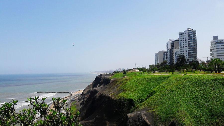 Miraflores, Lima Peru City Travel Destinations Nature Beach