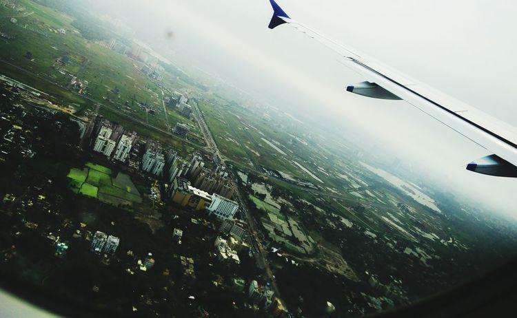 Fly High Kolkata Plane Eagleview