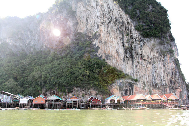 Koh Panyi (Koh Panyee) is a touristic village or Floating Sea Gypsy Village in Phang Nga Province, Thailand, near James Bond Island. Notable for being built on stilts by Indonesian fisherman. Floating Village Gigantic Limestone Rocks Gypsy Island Island Life Jungle-covered Islands Ko Panyi Koh Panyee Koh Panyi Landscape Landscape_Collection Limestone Nature Panyee Island Phang Nga Phuket Thailand Thailand_allshots Tourist Destination Tranquility Travel Destinations Travel Photography Traveling Village Village View