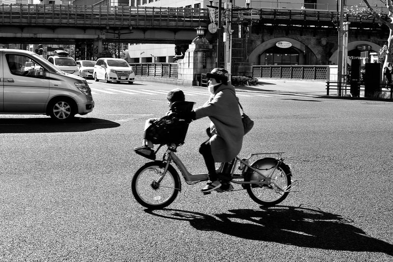 Akibahara Bike Blackandwhite Boy Japan Love Mather Monochrome People Streetphotography