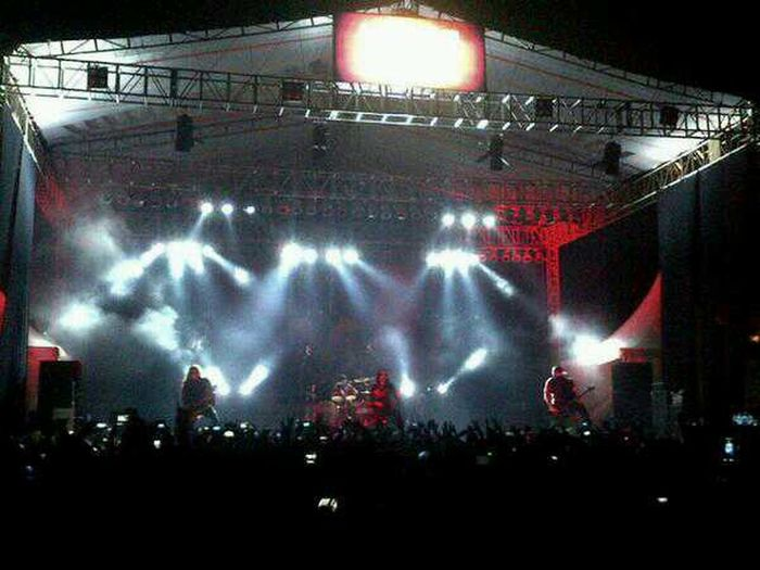 "Behemoth On Stage ""Rock In Solo"" RIS2013 Rockinsolo Rockfest INDONESIA"