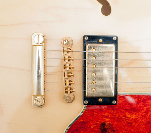 Full Frame Shot Of Electric Guitar