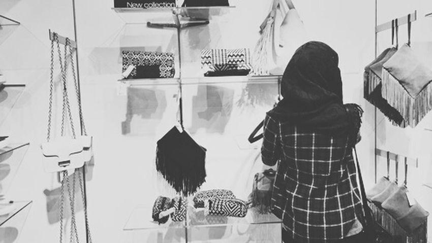Hijab Hijabbeauty Blak And White Blake  First Eyeem Photo