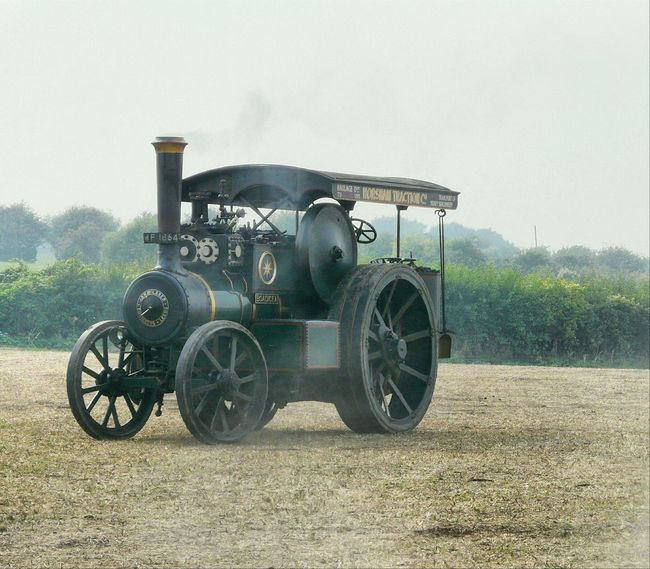 Transportation Land Vehicle Mode Of Transport Rural Scene Great Day Out Great Dorset Steam Fair Steam Traction Engine Seriously Heavy Engineering Green Color Transportation Heavy Haulage