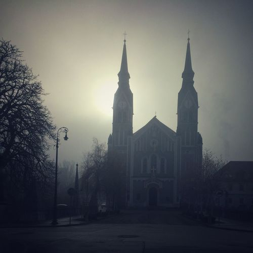 Foggy Day in