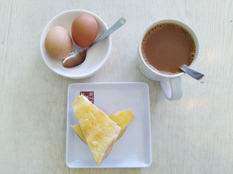Singapore Breakfast 2 Breakfast Coffee Soft Boiled Egg Toast🍞 EyeEm Selects Drink Studio Shot High Angle View Coffee - Drink Tea - Hot Drink Coffee Cup Close-up Food And Drink Hot Drink