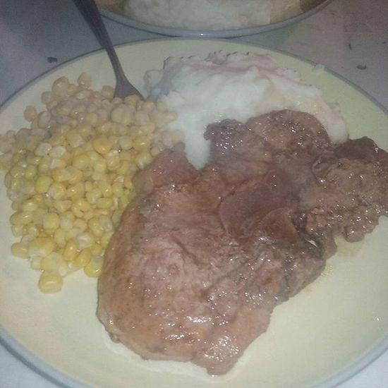 I made dinner ^_^ Amidoingitright Dinner Yummy Adulting