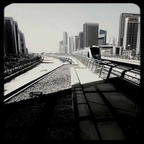 Dubai Summer Metro Beautiful