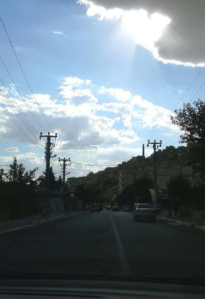 Cloud - Sky Electricity Pylon Sky Day No People Outdoors Capture The Moment Mardin's Street