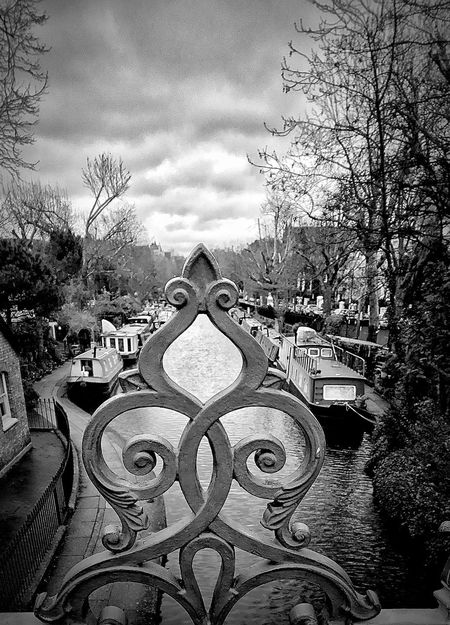 River view Paddington basin Blackandwhite London Canal Little Venice London Little Venice Paddington