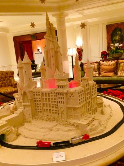 Christmas Sandcastle at the Delray Beach Marriott Travel Holiday Holidays Christmas Decorations Florida Showcase: December Mission: December Delray Beach
