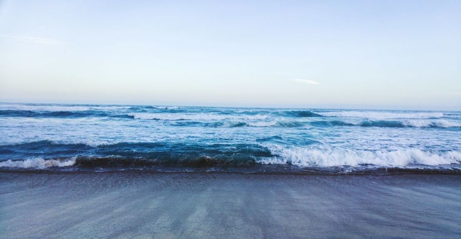 Sea Beach Water Nature Horizon Over Water Outdoors Beauty In Nature Scenics Sand No People Sky Landscape Day Wave Footprints Eyeemphoto South Africa Travel Destinations Coastal Feature African Beauty Vacations Backgrounds Blesse EyeEm Best Shots EyeEm Nature Lover