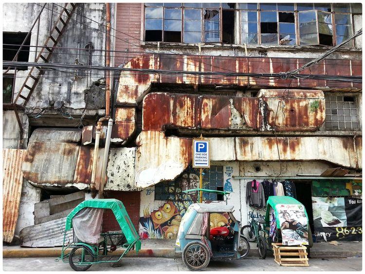 Tricicle Intramuros,manila Street Photography
