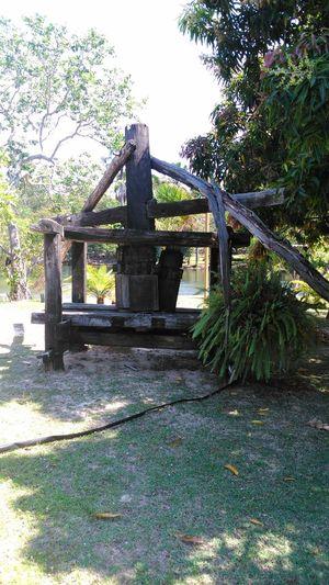 Moenda de cana de açúcar. Barreiras - Bahia - Brasil