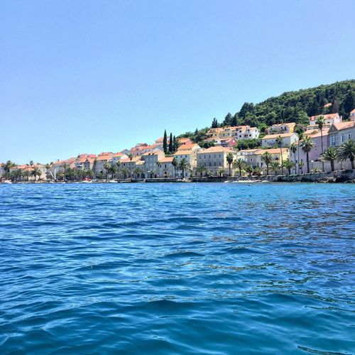 Coastline of Korčula Vacation Adriatic Sea Enjoying Life Seaside Summer Island Life Croatia Croatiawithlove Traveling Landscape_photography City Life Great Outdoors Cityscapes Croatia ♡
