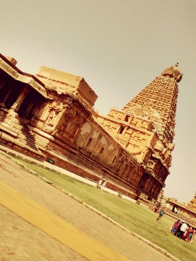 The great thanjai big temple