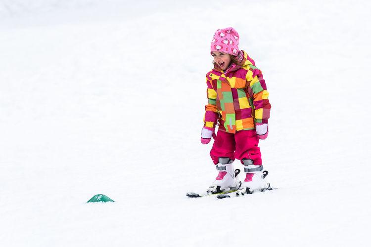 Children Family Instructor Kids Learning Ski Lift Ski Slope Skiing Slovenia Active Active Childhood Active Lifestyle  Baby Lift Childhood Outdoors Resort Ski Skiing Shoe Skis Slope Snow Sports Vacation Warm Clothing Winter