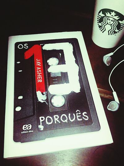 13ReasonsWhy Os13porquês Books Starbucks Headphones First Eyeem Photo