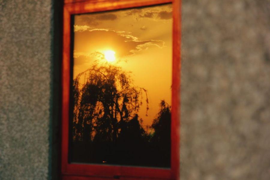 Windows Window IASBS Zanjan Sunset Sun Sunlight Sun Set