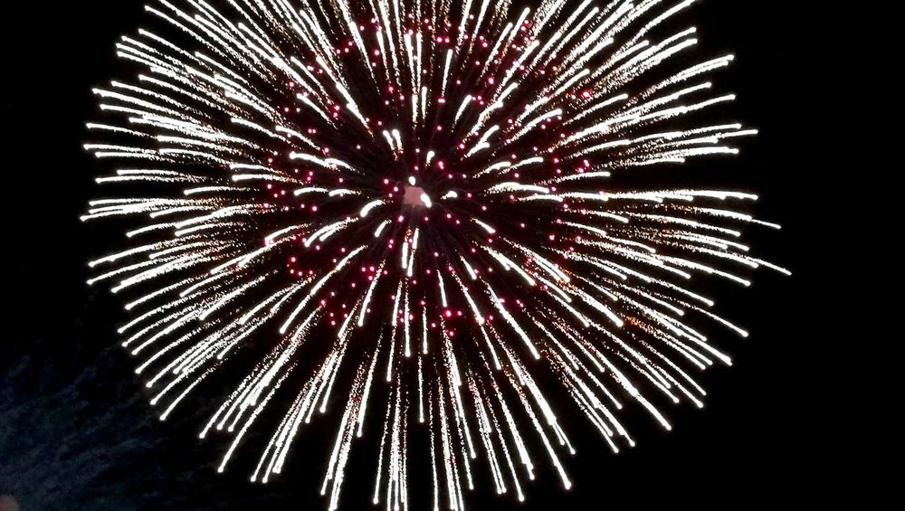 Firework Display Celebration Exploding Low Angle View Arts Culture And Entertainment Firework - Man Made Object Event Night Sky Multi Colored Outdoors 4th Of July Celebration USA