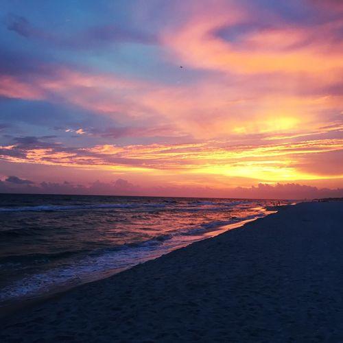 Bullseye Sunset