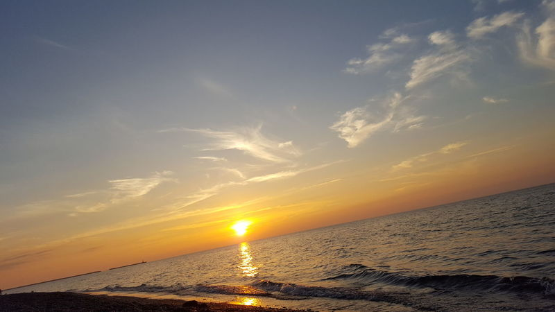 Sunset Sky Ocean