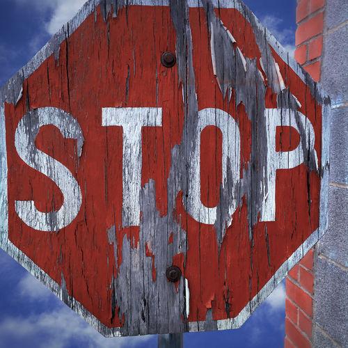 Wooden stop