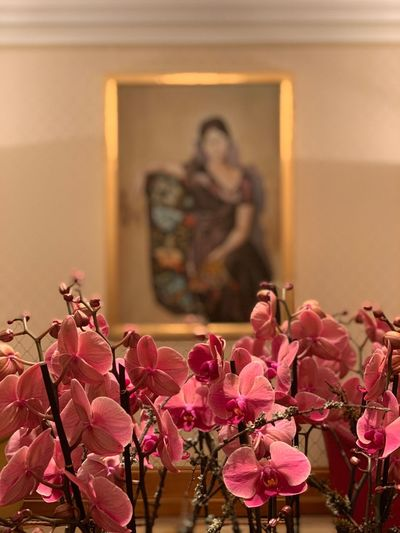 Inspiration Picasso Orchids Pink Picasso Art Bolonie Colors Bolonie Style Flower Flowering Plant Plant Pink Color Art And Craft Indoors  Religion Event Beauty In Nature Home Interior No People Nature Focus On Foreground Celebration Frame Decoration Craft Belief Architecture Spirituality The Mobile Photographer - 2019 EyeEm Awards My Best Photo