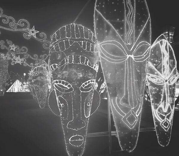 Lights Lights Of The World Mask