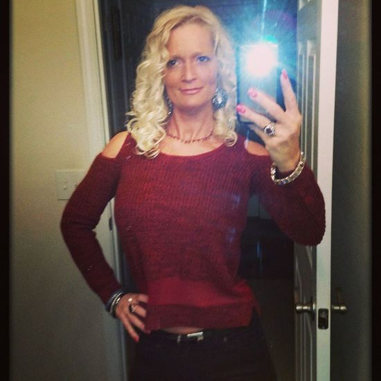 NoCaptionNeeded 😘 LOVING MY NEW Jessicasimpson SWEATER!!! GotItAtGordmans