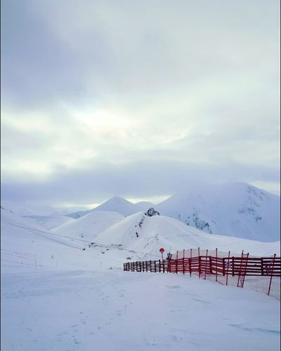 Mountain Snow Cold Temperature Tranquility Mountain Range Beauty In Nature No People Palandöken Dağı Erzurum Winter Wonderland EyeEm Nature Lover EyeEmBestPics