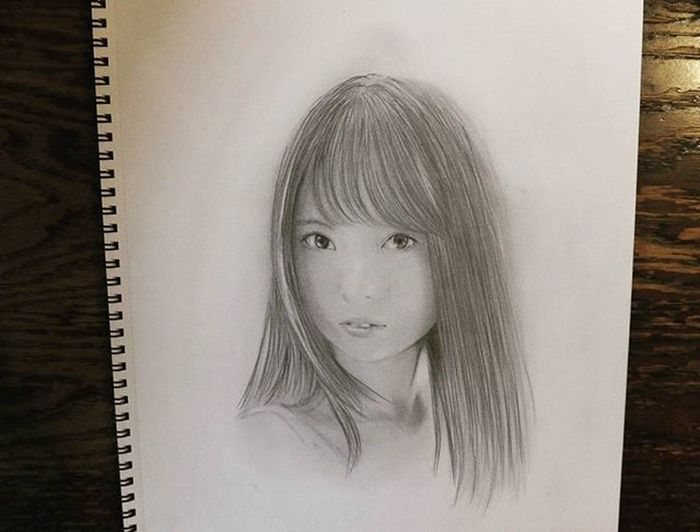 鉛筆画 描いてみた 乃木坂46