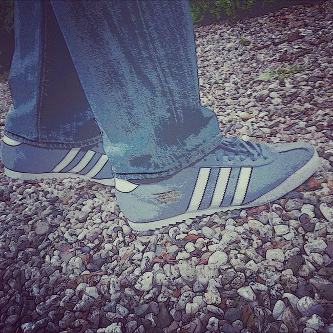 Todaystrainers Adidasbamba Adidasramon085 Thethreestripes Thebrandwiththethreestripes Casual_district Casualfridaya