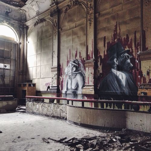 Abandoned Places Graffiti Street Art