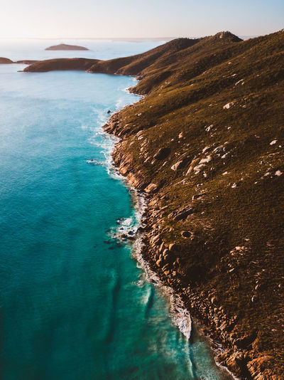 DJI Mavic Pro Aerial Aerial View Beach Beauty In Nature Day Dji Formation High Angle View Idyllic Land Mountain Nature No People Outdoors Rock Rock - Object Scenics - Nature Sea Sky Tranquil Scene Tranquility Turquoise Colored Water Waterfront