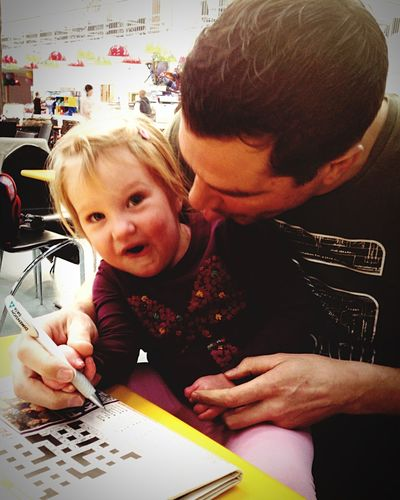 Helping Dad Crossword