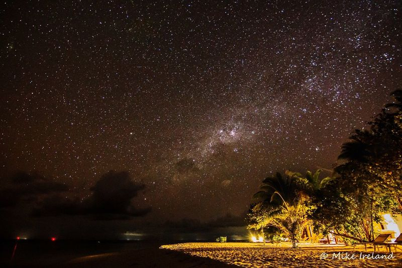 Diamonds Athuruga, Maldives. Lovely shot of the Milky Way over the Idian Ocean Night Star - Space Tree Nature Scenics Sky Beauty In Nature Astronomy Tranquility Star Field No People Outdoors Milky Way Galaxy EyeEmNewHere