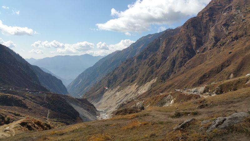 Rocky Himalayas, India. India, Himalayas Himalayas, India Mountain Beauty Sky Landscape Mountain Range Cloud - Sky