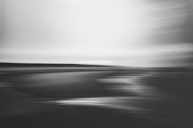 Abstracts of North Sea Motion Blur Abstract Black And White Blurred Motion Day Nature Sea Water Waterfront The Great Outdoors - 2018 EyeEm Awards