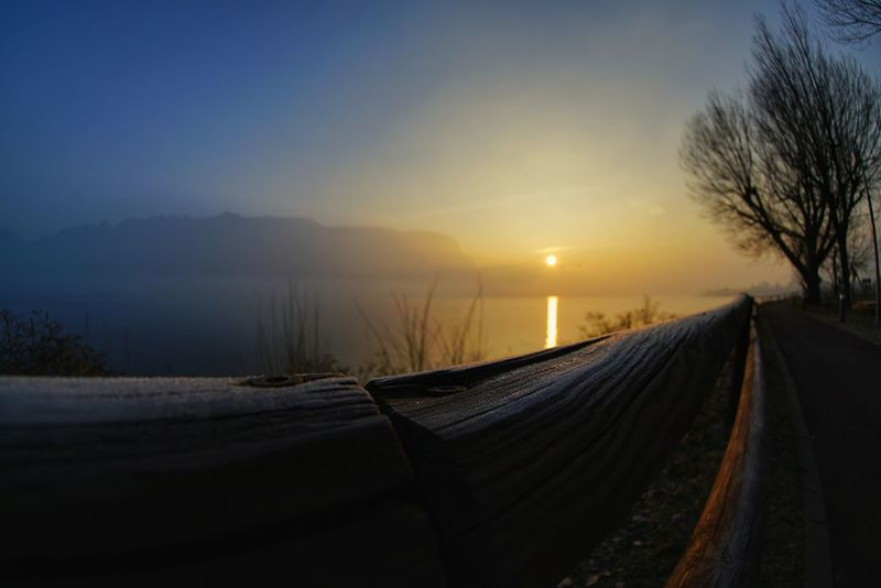 Beauty In Nature No People Day Lago Di Como, Italy Sonyalpha Sony A7RII Lucariva Full Frame Sony α♡Love Sony A7rm2 Sonyimages Samyang12mmf2.8 Close-up Focus On Foreground Low Angle View Sunrisephotography Sunrise Photography Sunrise And Clouds Lake Tranquility Cloud - Sky Water Sky Parco Torrette