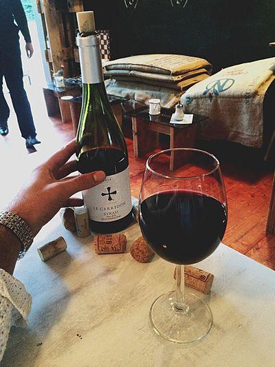 Gargote Syrah Wine Tasting Wine