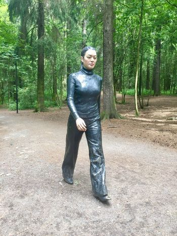 Sean Henrys Walking Woman. Ekeberg Sculpture Sculpture Park Walking Oslo Oslo Norway Oslo Love