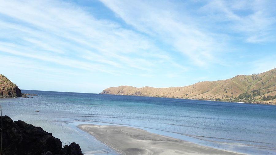 Beach Sea Sand Sky Scenics Outdoors Landscape No People Cloud - Sky Day Water Nature Sand Dune